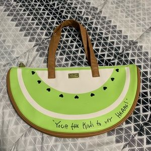 Betsey Johnson Kiwi Insulated Cooler Tote Bag